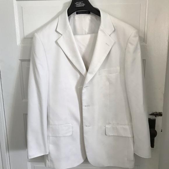 07c89766eb392a Elegante Gentiluomo Suits & Blazers | Mens White Suit | Poshmark